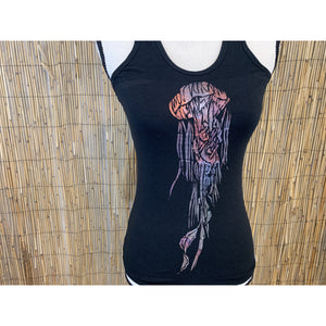 Jellyfish Hand Painted Women's Yoga Tank
