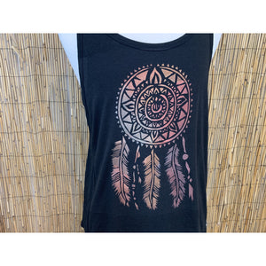 Dream Catcher Hand Painted Bamboo Men's Tank