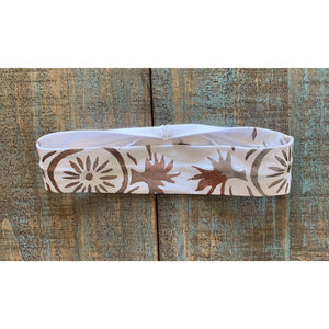 Medicine Wheel Hand Painted Bamboo Headband