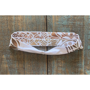 Hamsa Hand Painted Bamboo Headband