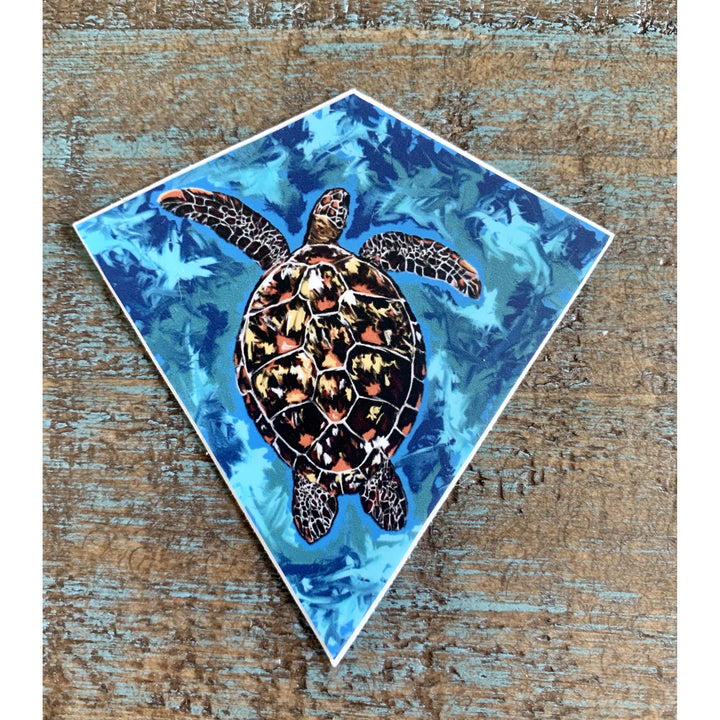 Turtle Sticker 3x3in