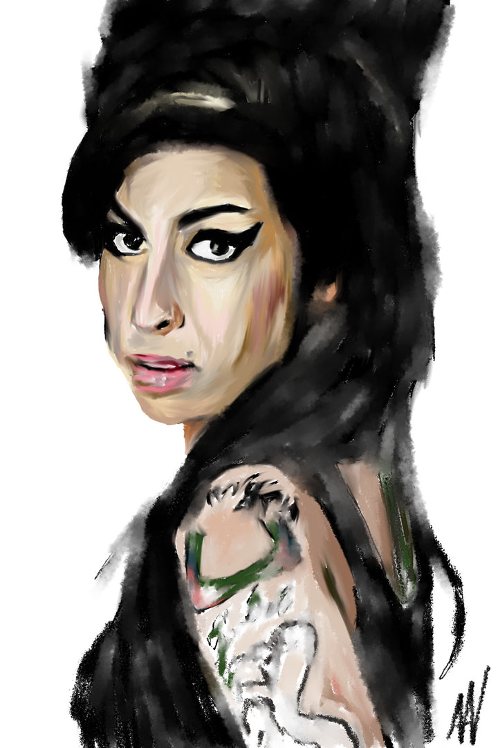 Amy Winehouse Archetype Print