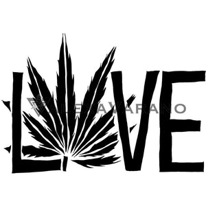 Weed Love Design