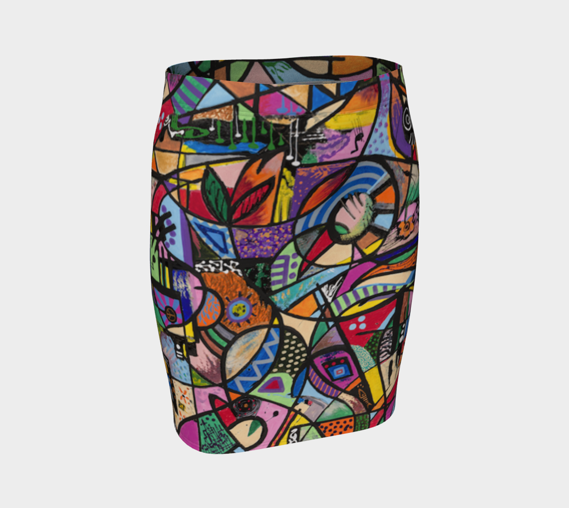 Luminosity Fitted Skirt