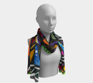 Coral Reef Long Scarf