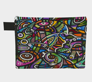 Coral Reef Zipper Carry-all