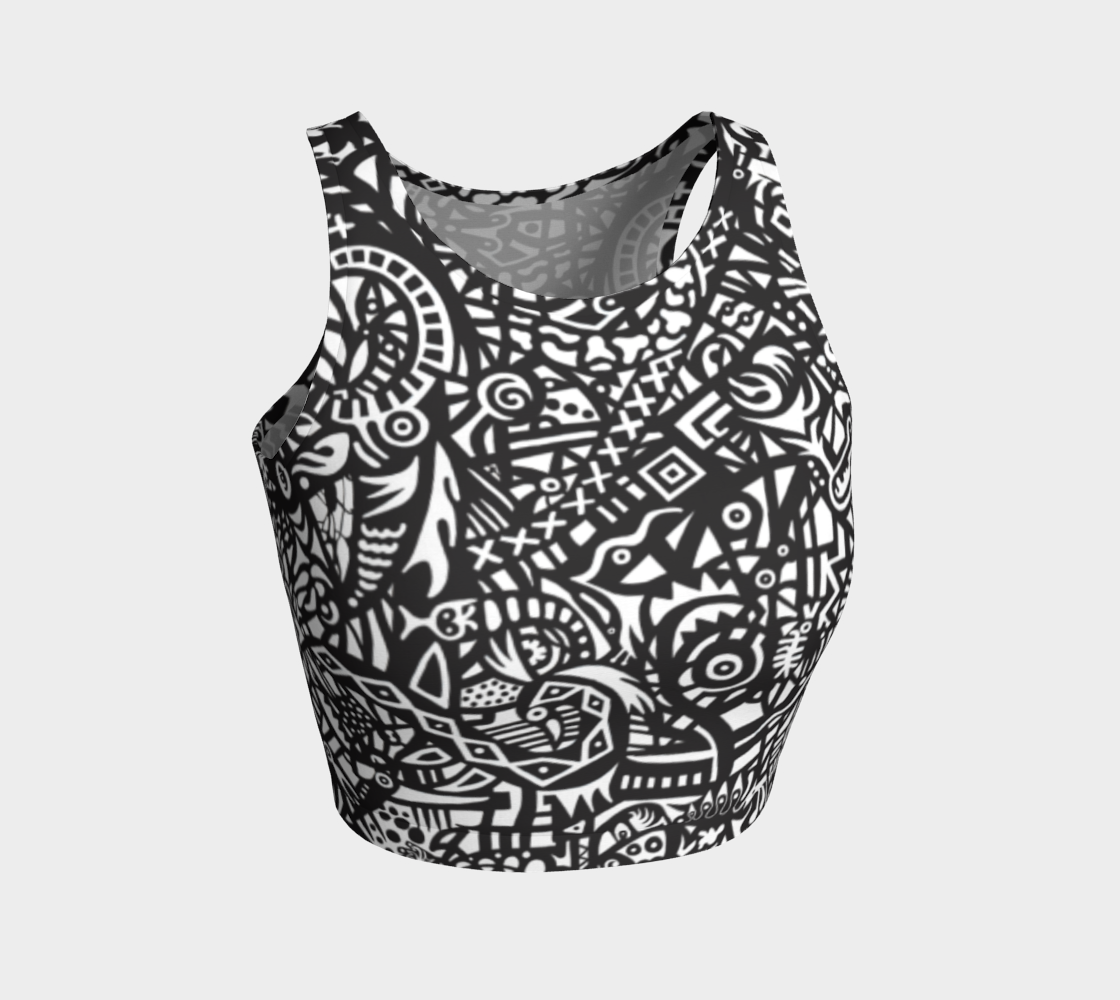 Neoglyph Athletic Crop Top