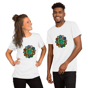 Grow Peace Short-Sleeve Unisex T-Shirt
