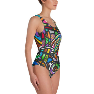 Coral Reef One-Piece Swimsuit
