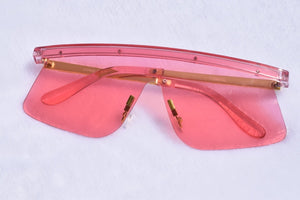 Oversized  Stella Sunglasses - Pink