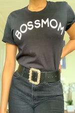 Boss Mom Tee - Black
