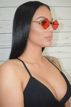 Red Flame Sunglasses