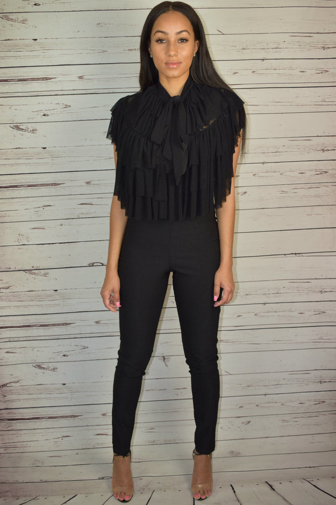So Sophisticated Jumpsuit - Black