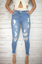 Stella Ankle Denim