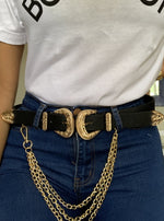 Linked up chain belt