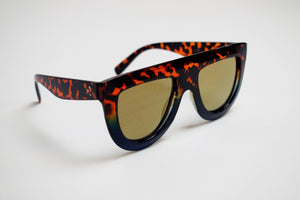 Cheetah Print Blues Sunglasses
