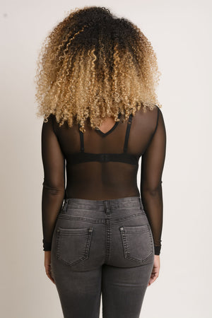 Kim Bodysuit - Black