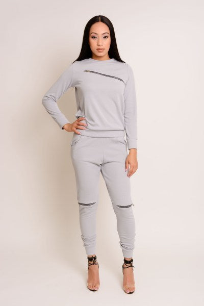 Grey Cotton Set