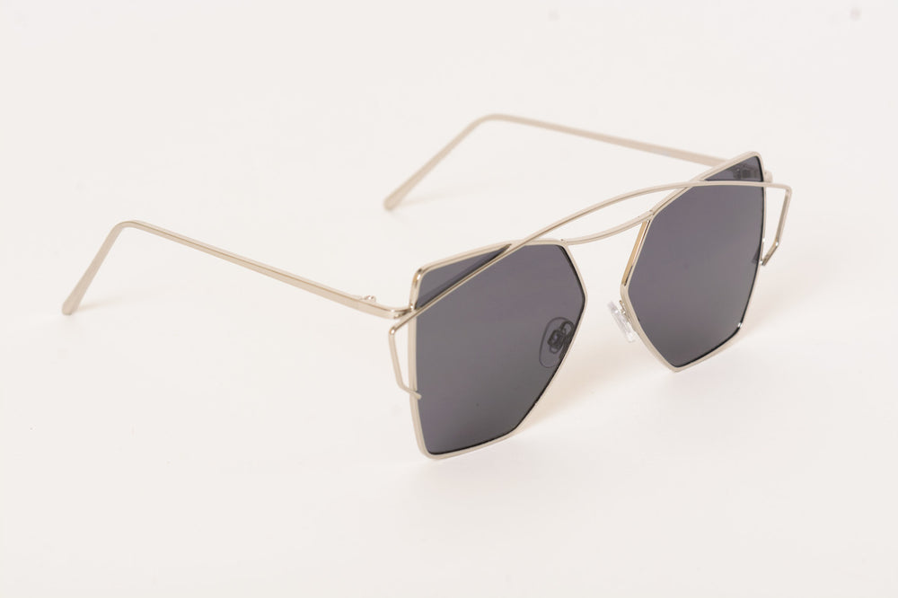 Top Flight Black Sunglasses