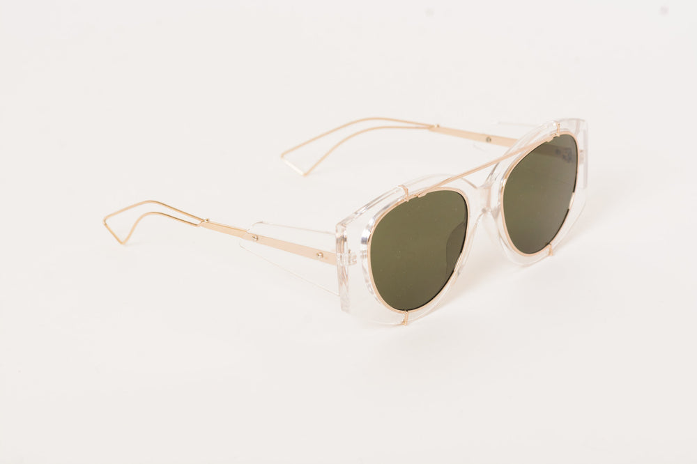 Clear Black Sunglasses