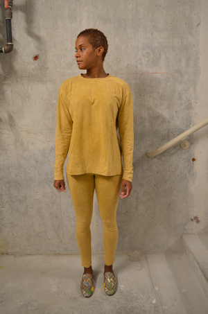 Acid Wash Set - Mustard