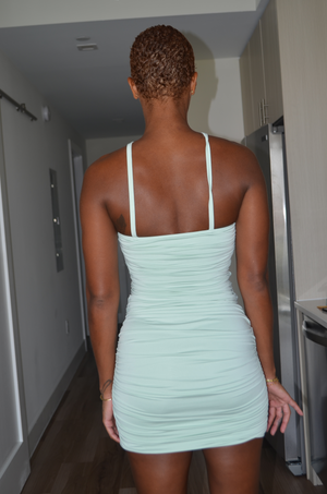 Sage Bodycon Dress - Mint