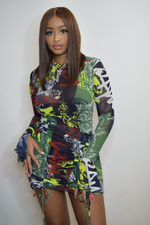 Raw Graffiti Dress