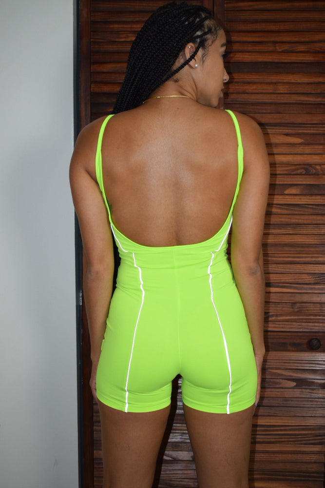 Neon Dreams jumpsuit - Green