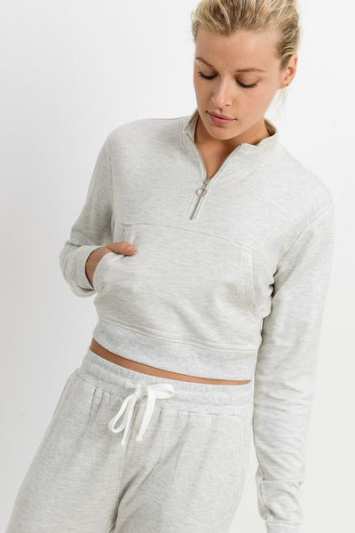 Sara Cropped Pullover