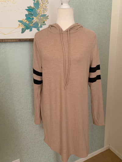 Taupe Athletic Dress