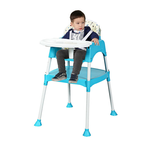 3 in 1 Convertible Feeding Baby High Chair