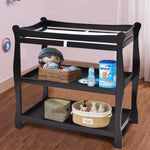 Sleigh Style Baby Changing Table Nursery Diaper Station