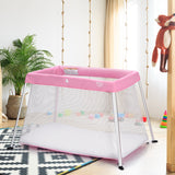 Portable Lightweight Baby Playpen Playard with Travel Bag
