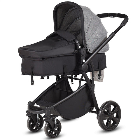 2 in 1 Folding Aluminum Buggy Newborn Travel Baby Stroller