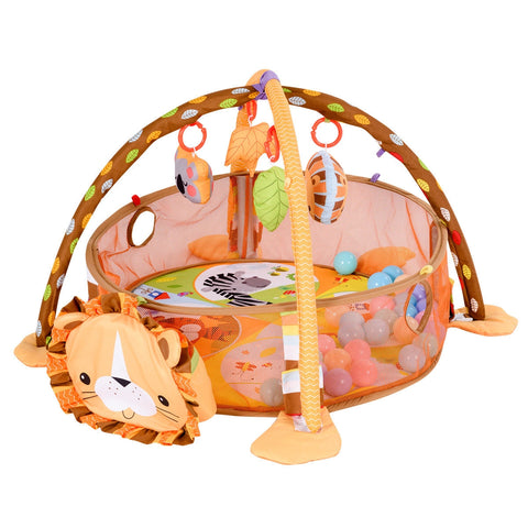 3 in 1 Cartoon Baby Infant Activity Gym Play Mat