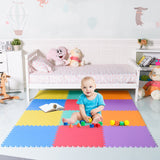 12 pcs Baby Kids Carpet Puzzle Exercise Mat