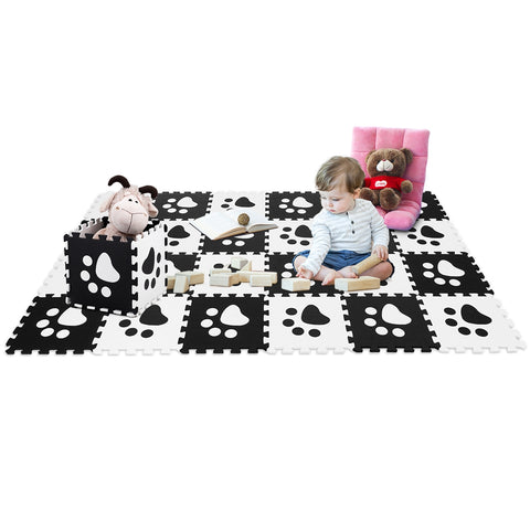 24 Pieces Baby Kids Carpet Puzzle Exercise Mat