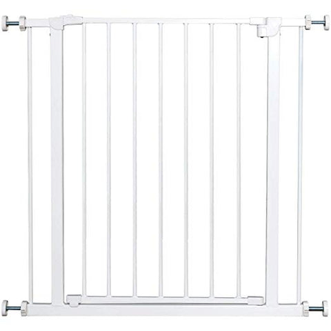 Child Safety Gate Door Metal Easy Locking System