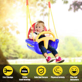3-in-1 Infant to Toddler Swing Set