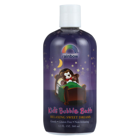 Organic Herbal Bubble Bath For Kids Sweet Dreams - 12 Fl Oz