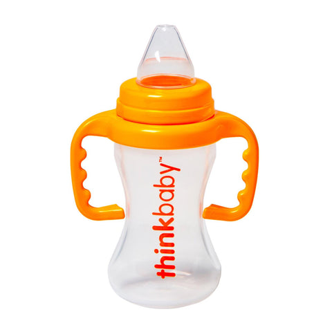 Sippy Cup - BPA-Free - Orange - 9 Oz