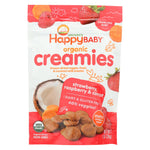 Creamies Organic Snacks - Strawberry Raspberry Carrot - 1 Oz Packets - 8 pack
