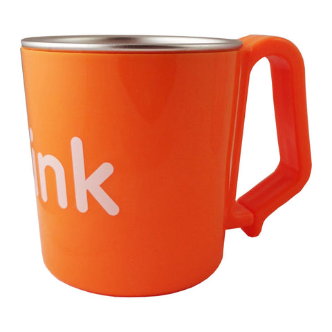 BPA Free Think Cup - 7 Oz. Kid's Cup - Orange