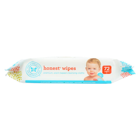 Baby Wipes - Unscented - 72 count