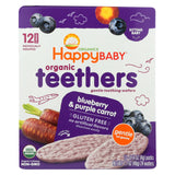 Gentle Teethers - Blueberry And Purple Carrot - 1.7 Oz. Boxes - 6 pack