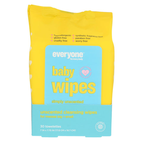 Baby Wipes - Unscented - 30 Count