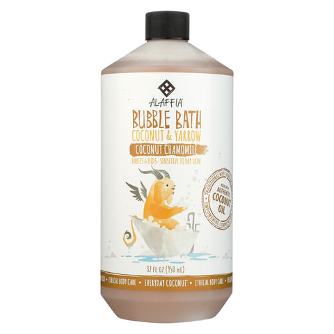 Babies and Kids Bubble Bath - Coconut Chamomile - 32 Fl Oz
