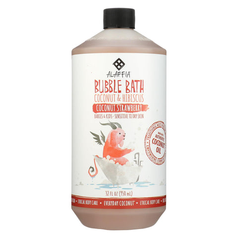Babies and Kids Bubble Bath - Coconut Strawberry - 32 Fl Oz