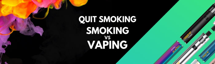 Smoking vs Vaping a report by PHE and the BBC