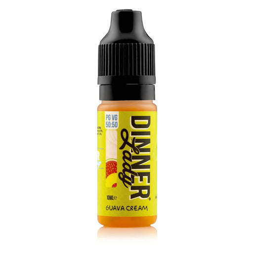 Dinner Lady Guaba Cream 50-50 Bottle 10ml E-liquid